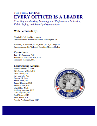 Every Officer Is A Leader book jacket